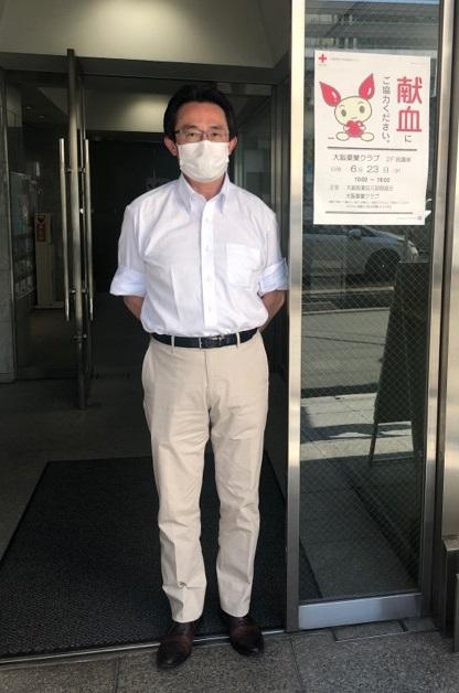 【CSR】大阪薬業クラブ及び大阪医薬品元卸商組合主催 献血へ参加(社会の一員として)